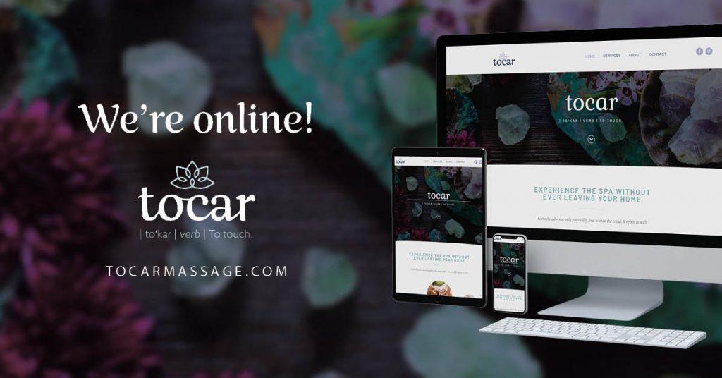 Tocar Massage Social Media Banner